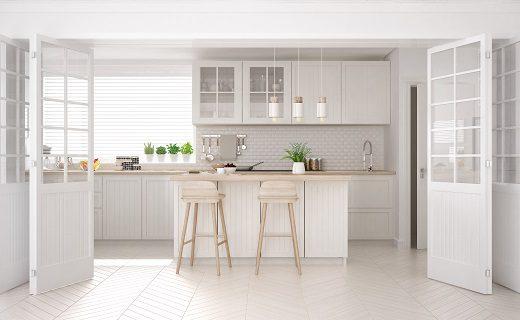 Hoe kan je je oude keuken goedkoop opknappen. Door ze te schilderen! | BP Decor