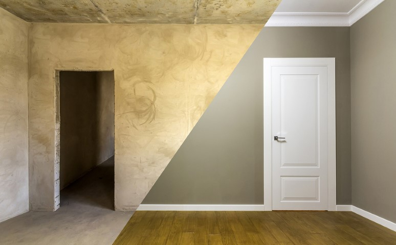 Verf je deuren en muren in dezelfde kleur?